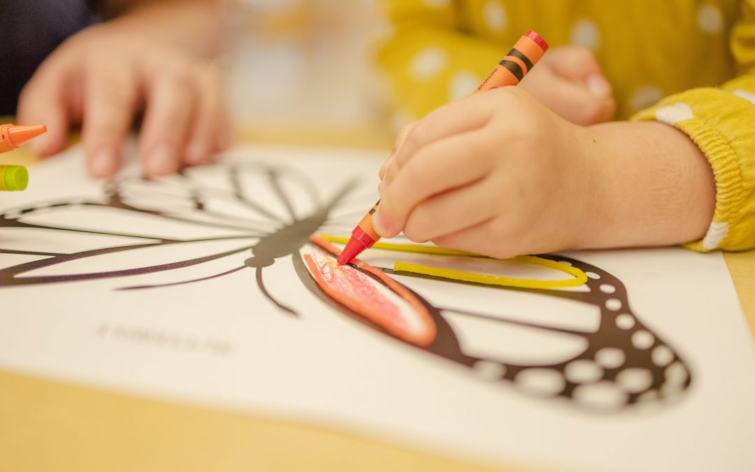 How Coloring Within the Lines in Coloring Books Develops Kids